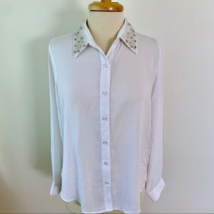 Forever 21 Tops - NWT Chiffon Blouse